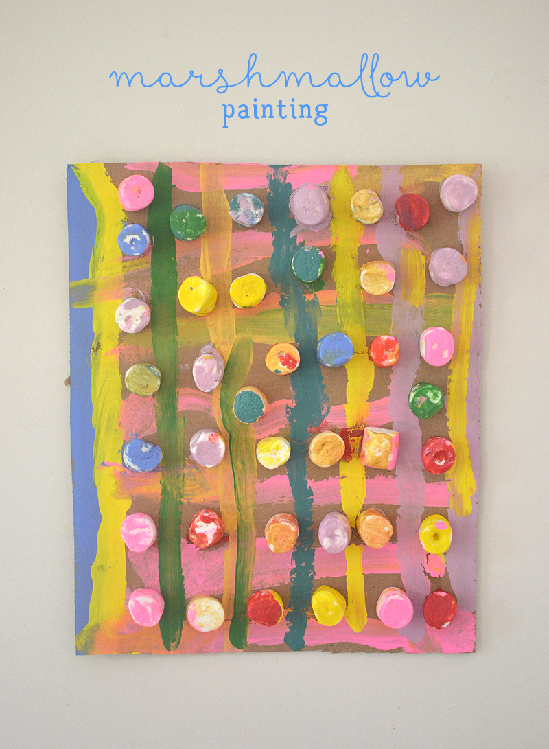 Marshmallow Painting