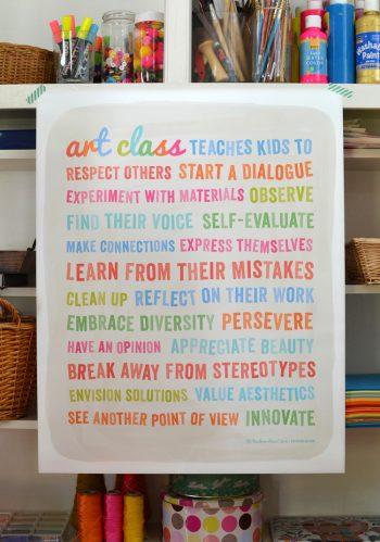 Art Class poster Barbara Rucci