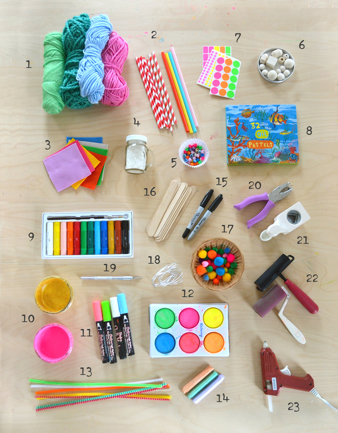 More children's art supplies to add to your shelves.