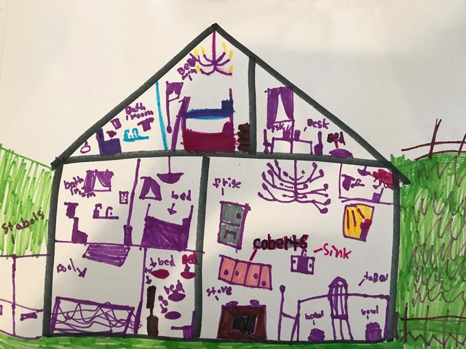 Creating floor plans for Dollhouse Camp!