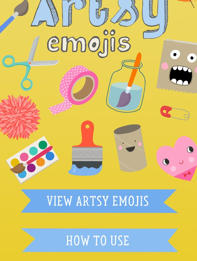 Artsy Emojis: The Sticker App for Artsy People