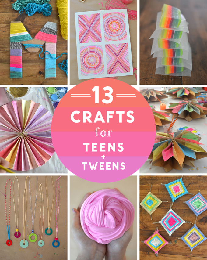 14 crafts for teens and tweens artbar for Good arts and crafts