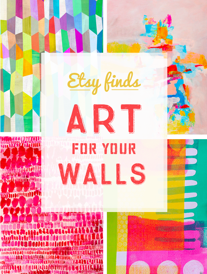 Etsy Finds: Art Prints for your Walls