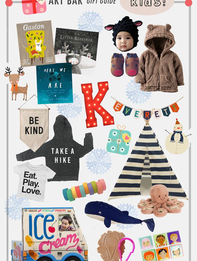 Art Bar Holiday Gift Guide: Kids