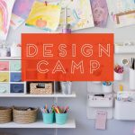 Design Camp is a 5-week E-course with Megan Schiller from The Art Pantry. Megan will help you set up an art space at home for your kids that is organized, inviting, and that most of all, builds creative confidence.