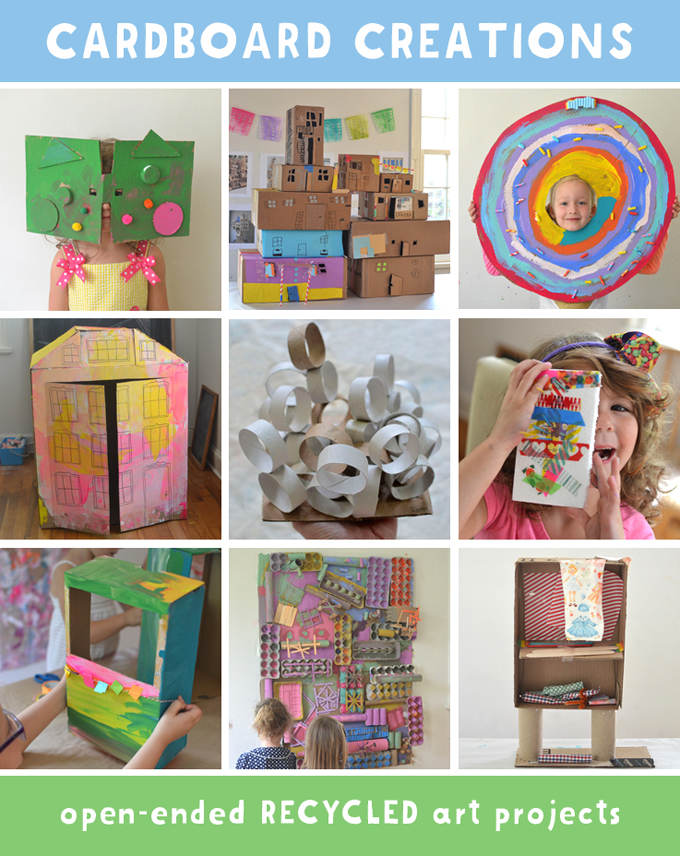 Cardboard Creations by Barbara Rucci