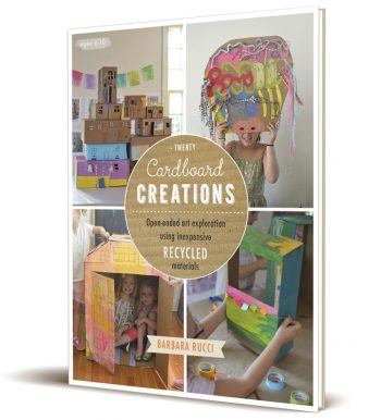 Cardboard Creations // ebook by Barbara Rucci