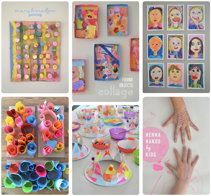 40 summer arts and crafts for kids!