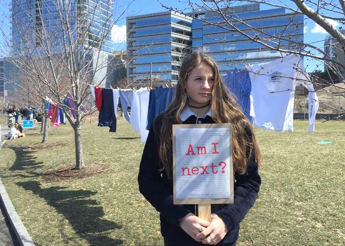 March For Our Lives, Stamford, CT, March 2018