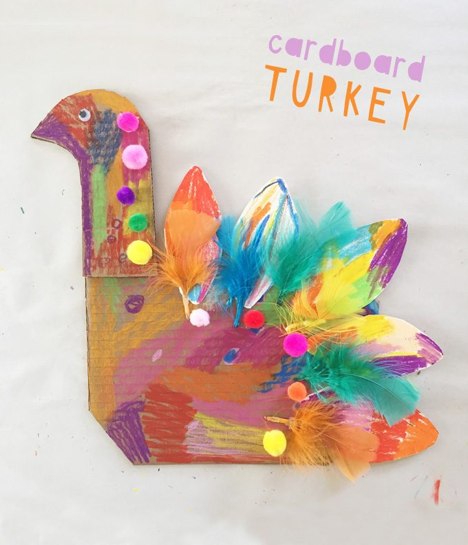 Turkey Craft from Cardboard