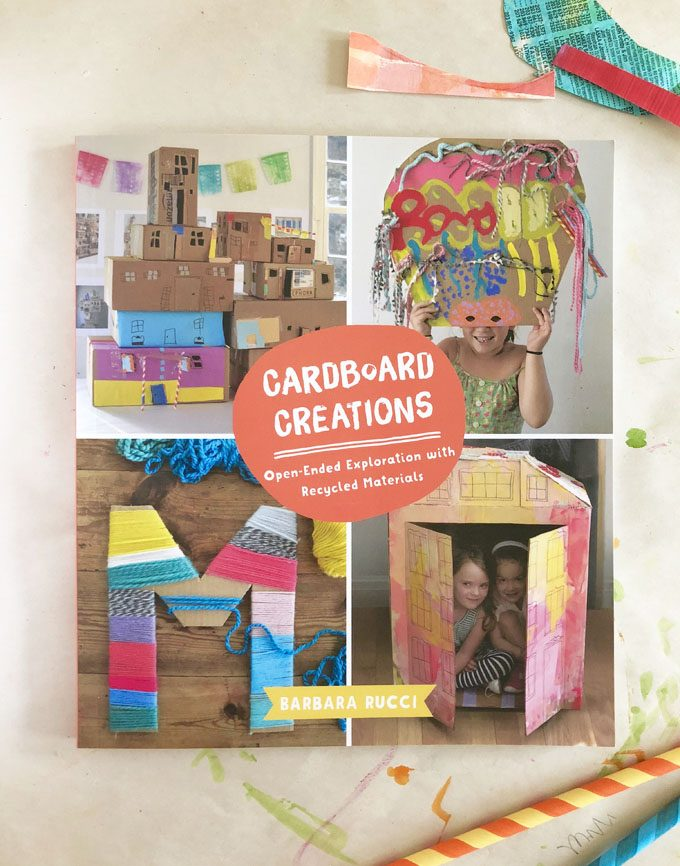 My Latest Book, Cardboard Creations, is here!