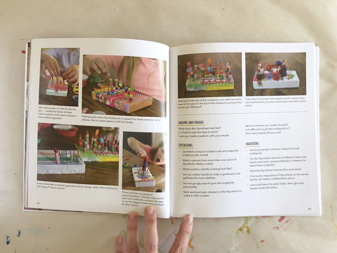 My latest book, Cardboard Creations, is now out in paperback. Filled with more than 20 projects using recycled materials plus over 150 variations. Great for teachers in the classroom or parents at home.