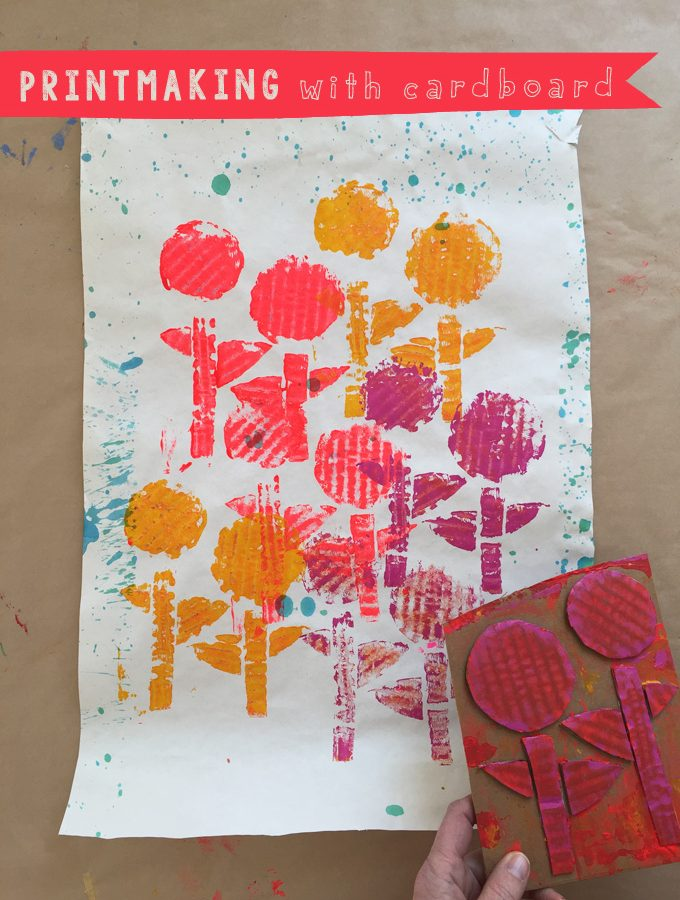 Printmaking with Cardboard
