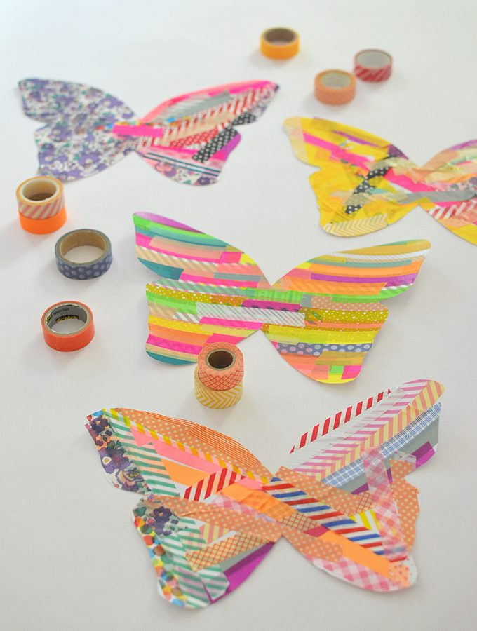Washi Tape Butterflies