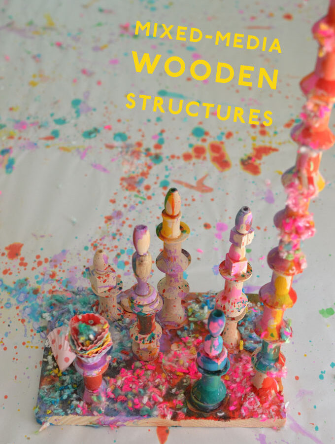 Mixed-Media Wooden Structures