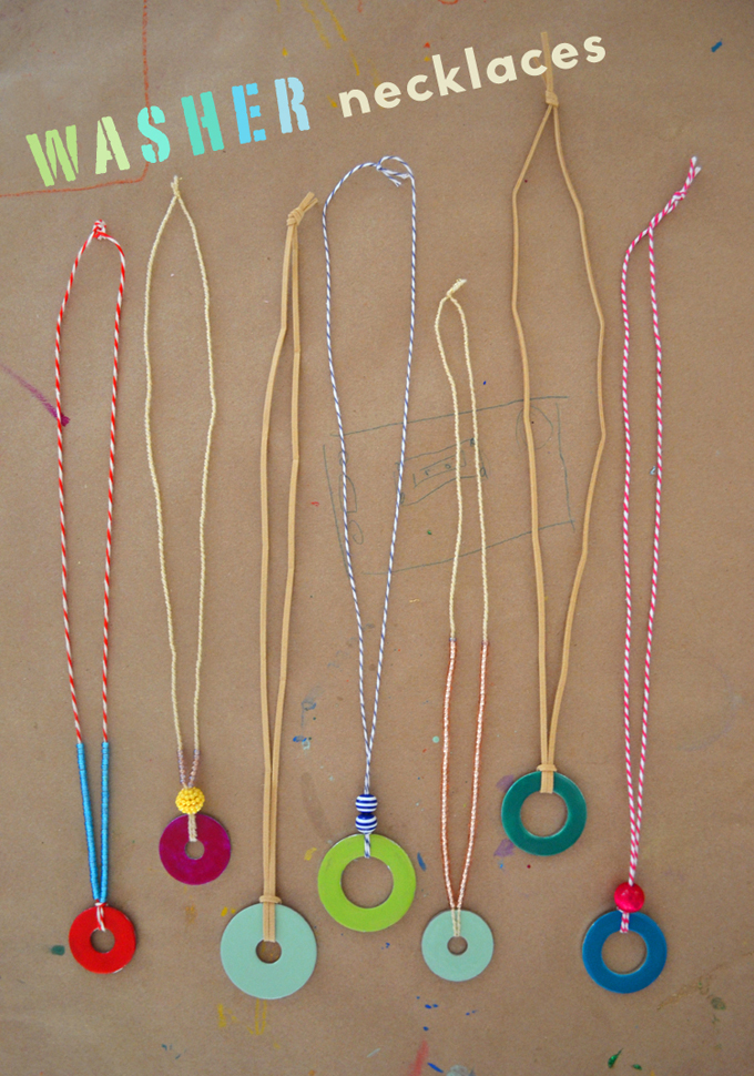 Washer Necklaces Artbar