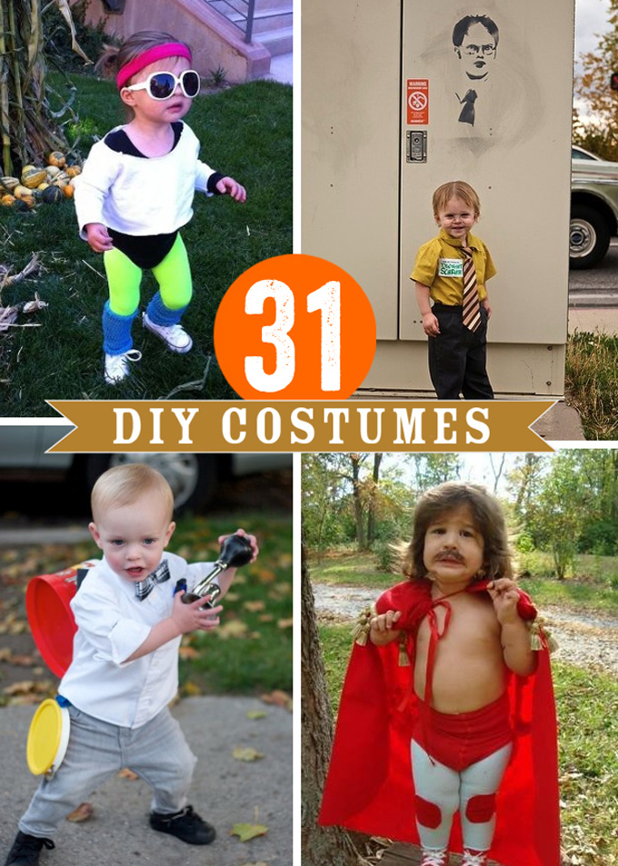 31 DIY Halloween Costumes for Kids
