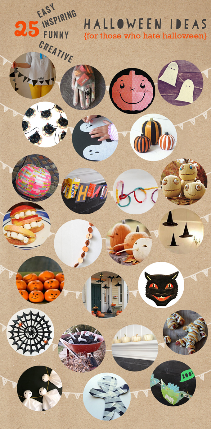 25 easy, funny, and creative Halloween decorating ideas