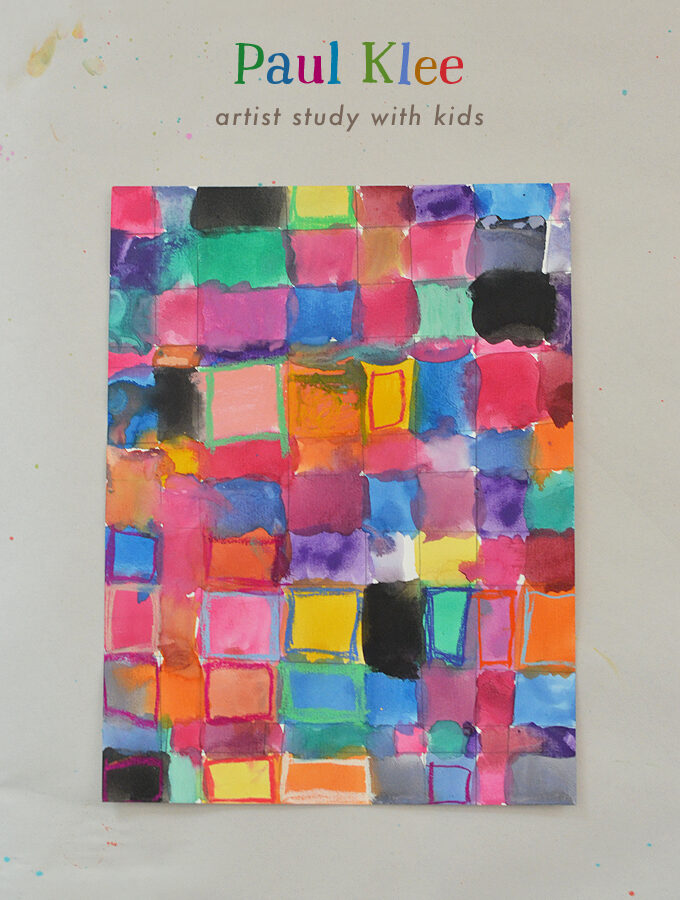Paul Klee Artist Study with Kids