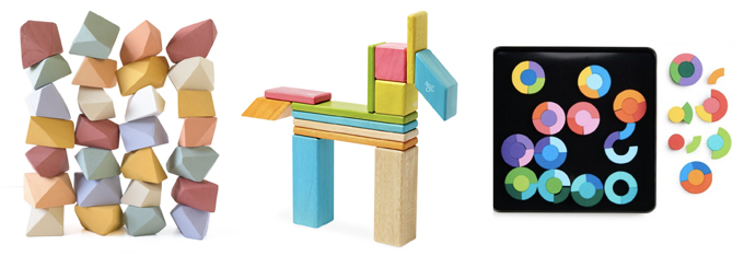 Magnetic blocks for kids.