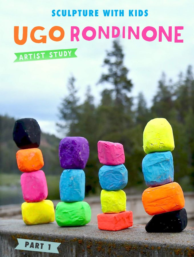 Sculpture with Kids: Ugo Rondinone Artist Study (Part 1)