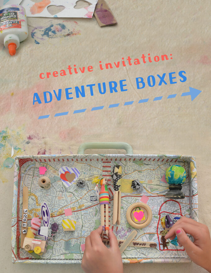 Creative Invitation: Adventure Boxes