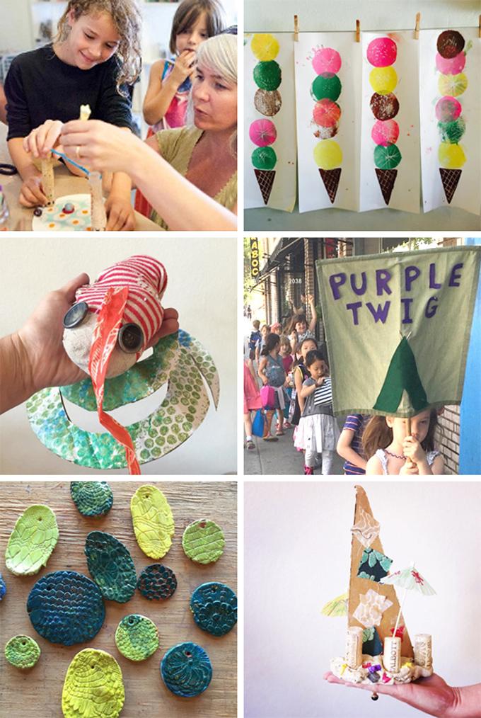 Purple Twig art studio in Los Angeles, California