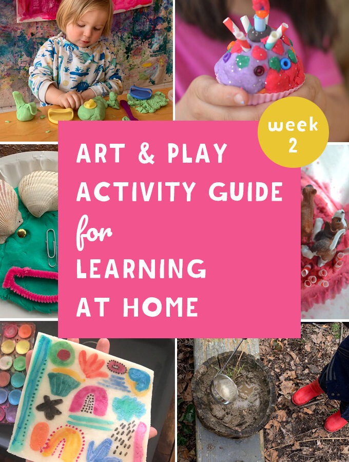 Are you and your kids quarantined at home because of the coronavirus? Well this Art and Play guide will help! Promoting math, literacy and science through art and play.