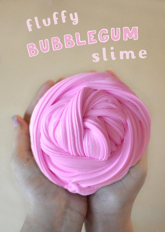 Fluffy Bubblegum Slime