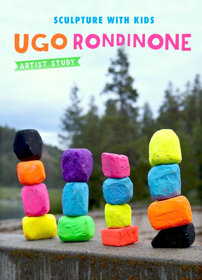 Sculpture with Kids: Ugo Rondinone Artist Study