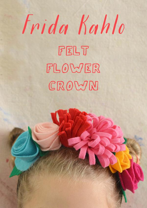 Frida Kahlo Headbands with Kids