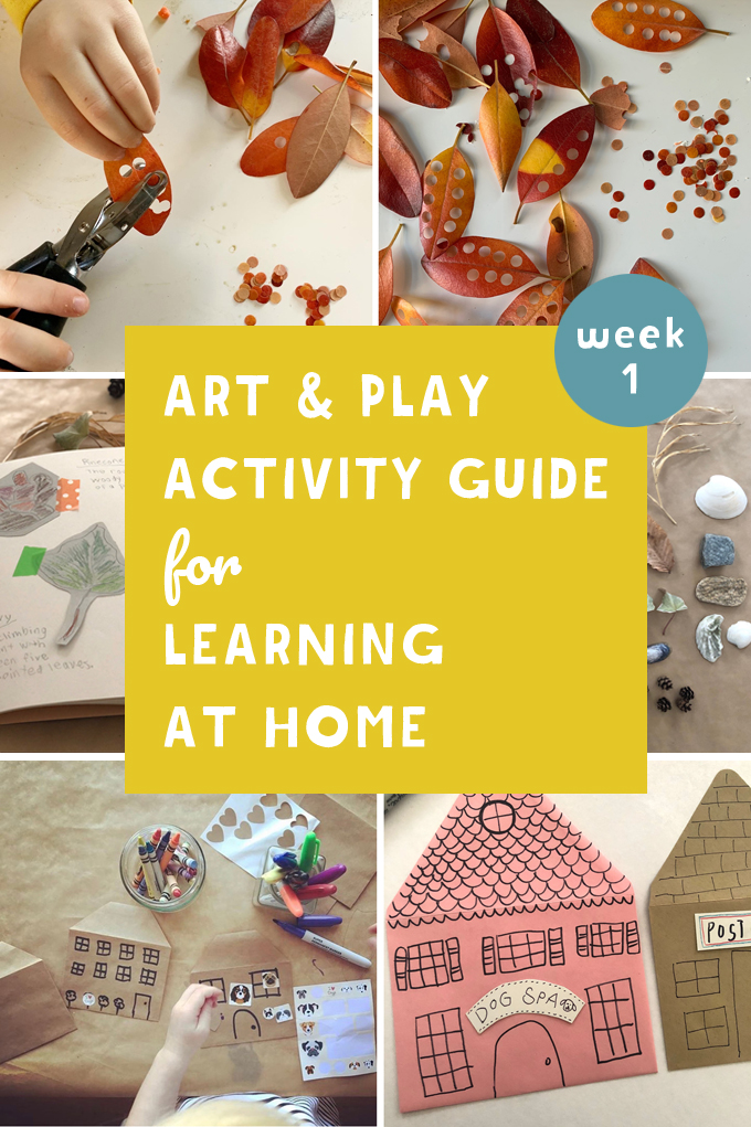 ART AND PLAY ACTIVITY GUIDE WEEK 1: DRAWING TOOLS