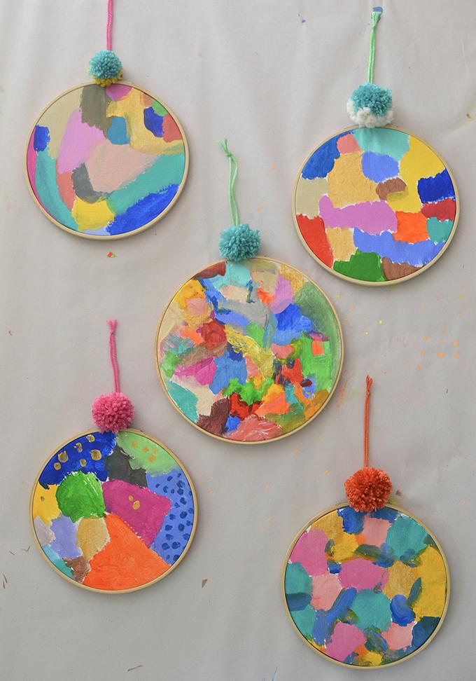 Kinda Khalidy artist study with kids
