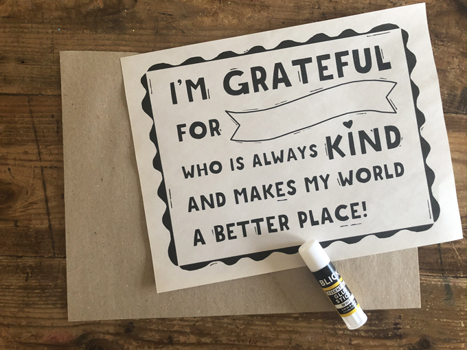 A perfect thank-you for the kindness and patience your child's teacher has shown this year. Free printable, paint or color in any way you choose.