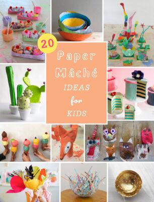 20 Paper Mache Ideas for Kids.