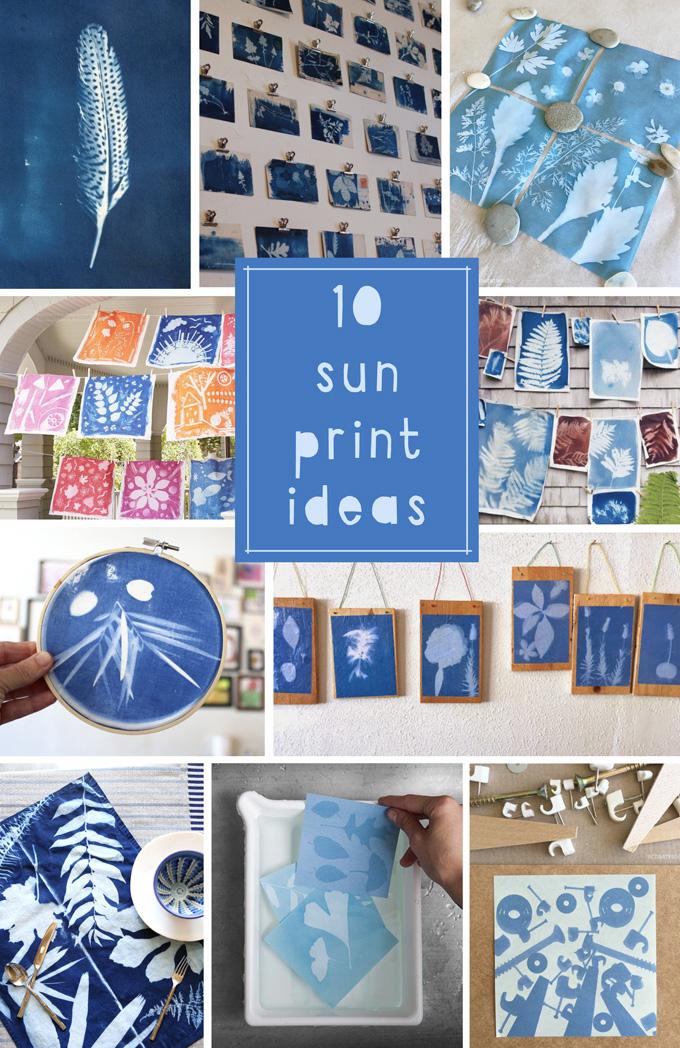 10 Sun Print Ideas for Kids and Teens